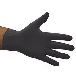 Black Nitrile Powderfree Gloves